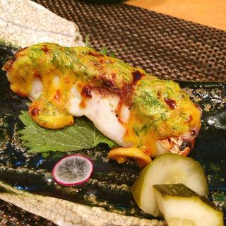 鯛の黄身マヨネーズ焼き(いわ月 (イワヅキ))