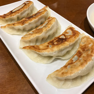 焼き餃子(台湾料理師記)