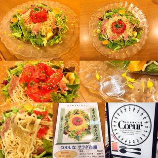 COOLなサラダ冷麺(想作酒場 Coeur (く~る))