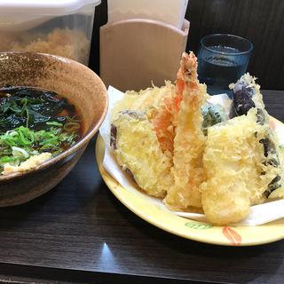 天ぷら盛り合わせきしめん(天丼天ぷら げんき庵 )
