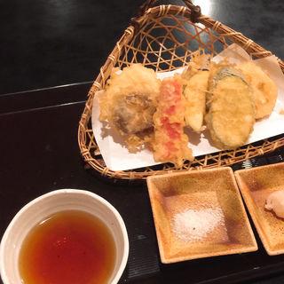 野菜の天ぷら(武蔵坊)