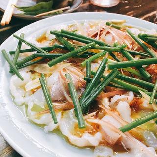 タコのカルパッチョ(大衆料理 川治 )