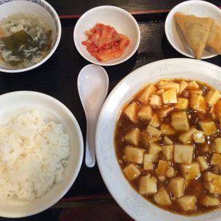 麻婆豆腐定食(雲隆 )