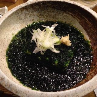 青海苔豆腐(ハーフサイズ)(魚金二号店)