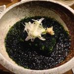 青海苔豆腐(ハーフサイズ)
