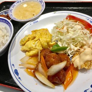 肉団子定食(隆記 (リュウキ))