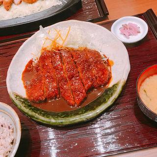ロースとんかつ(矢場とん 大阪松竹座店 )
