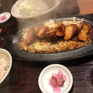 豚ヒレカツ定食(矢場とん 大阪松竹座店 )