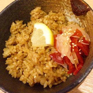 カレー炒飯のフライライス(里葉亭)