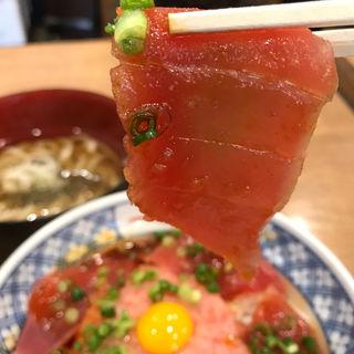 まぐろユッケ丼(磯丸水産 梅田お初天神前店 )