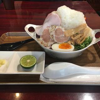 拉麺かき氷(かき氷専門店 ドギャン )
