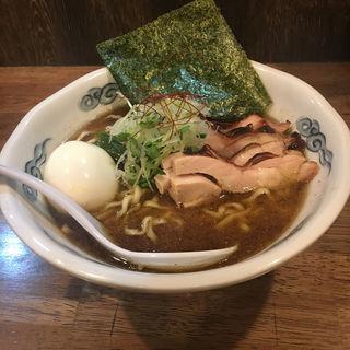 魚鶏そば (欽山製麺所 )