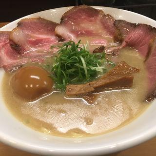 名古屋コーチンの純製鶏白湯(Ramen 辻)