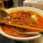 赤の辛口担々麺