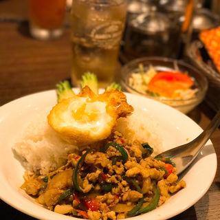 ガパオライス(THAIFOOD DINING&BAR マイペンライ )