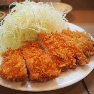 ロース定食(とん喜)