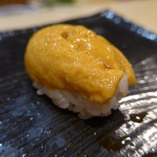 紫海胆(鮨 福元 (すしふくもと))