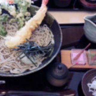 冷やし海老蕎麦(そば匠 喜の家)