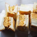 こだわり卵の厚焼きトーストサンド(karo 馥郁焙煎工房 )