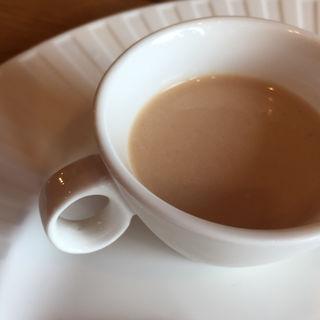 桃のスープ(ふらんす食堂 わかばとしずく(前レストランNagatake ))