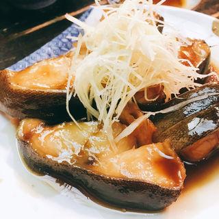 銀ダラの煮付け(大衆料理 川治 )