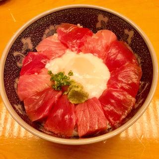 本鮪ばくだん丼(日本料理 銀座 大野 (にほんりょうり ぎんざ おおの))