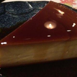 美豆乳のレアチーズケーキ(瑠璃庵 (るりあん))