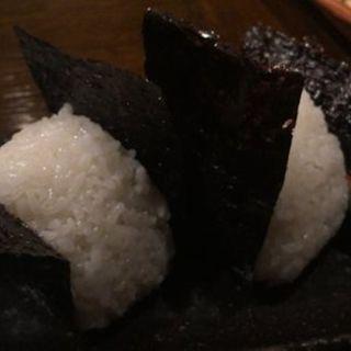 """""""自家栽培""""「ヒノヒカリ」の塩おにぎり(瑠璃庵 (るりあん))"""