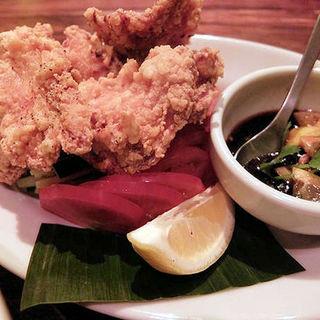 鶏むね肉のから揚げ レモンソース(クェンマイ )
