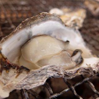 牡蠣の炭火焼き(牡蠣ハウス マルハチ )