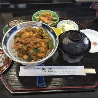 かき揚げ丼(天ぷら 天正)