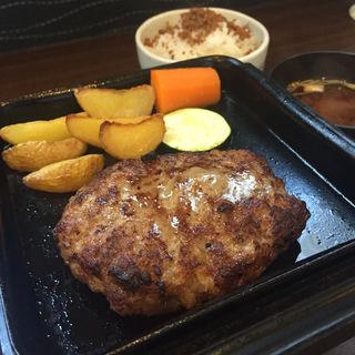 彩り前菜&ジューシーハンバーグ(かがり)