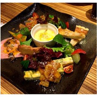 前菜5種盛り(トラットリアフォンド )