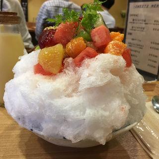 旬の果物とミルクセーキ(らんらん )