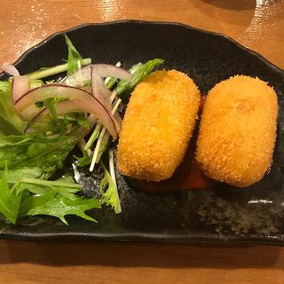 蟹クリームコロッケ(駒沢魚庵 直 (コマザワサカナイオリナオ))