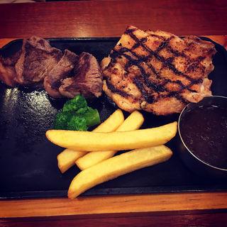チキン&カットステーキ(ビッグボーイ郡山富田店)