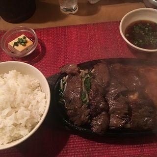 ミックス定食(グリルピエロ)