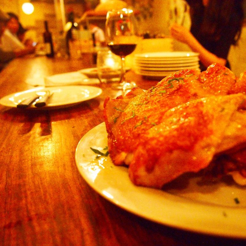 大山鶏のロースト
