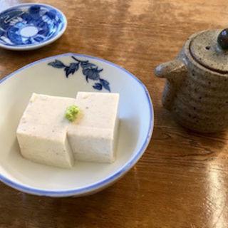 蕎麦豆腐(湧水 (ゆうすい))
