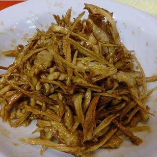 ごぼうと細切り肉の炒め(ピカイチ )