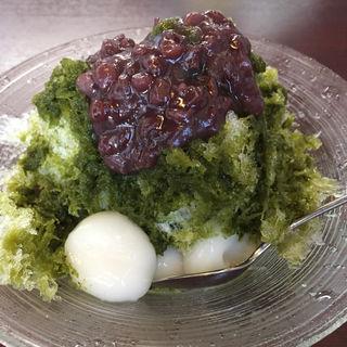 かき氷 宇治金時(茶・珈琲 方丈 (houjo))
