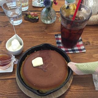 パンケーキ(ミツバチガーデン カフェ (38garden cafe))