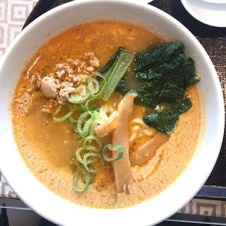 担々麺セット(横浜中華街・中華料理 梅蘭 KITTE博多店)