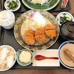 ひれかつ定食(3ヶ)