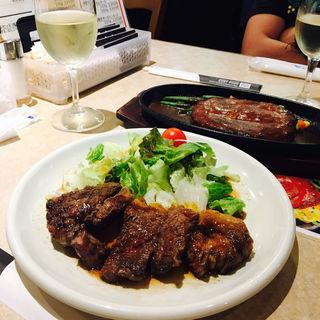 肉の日ステーキ(肉の大山 (おおやま))