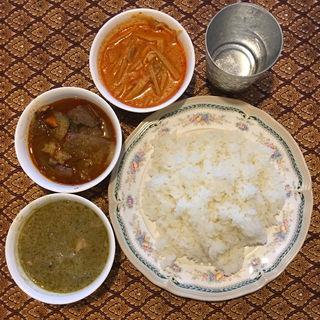 タイカレーセット(アゲインタイ家庭料理 )