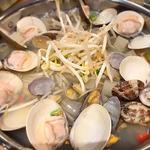 蛤とあさりのスープ