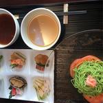 冷やし翡翠麺(中国料理 カリュウ (かりゅう Karyu))