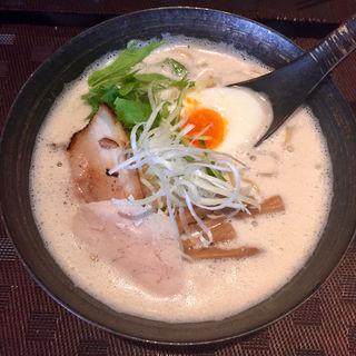 鶏白湯ラーメン 醤油(麺屋 奏音)