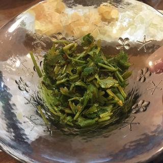 パクチーキムチ(ちー坊の担々麺 阿波座店 )